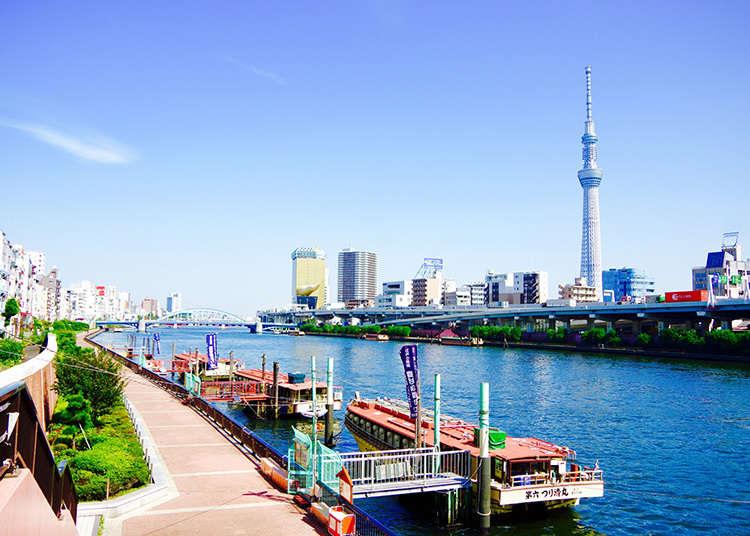 Menikmati pemandangan TOKYO SKYTREE(R)