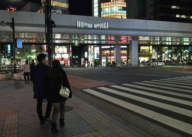 Tempat Pertemuan Populer di Roppongi
