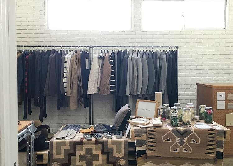 Sophisticated boutiques surrounded by greenery with carefully selected items