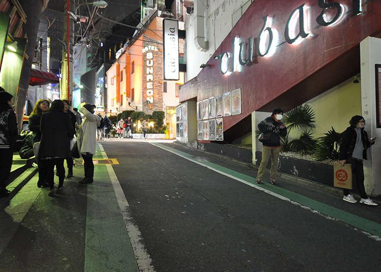 到円山町散步看看