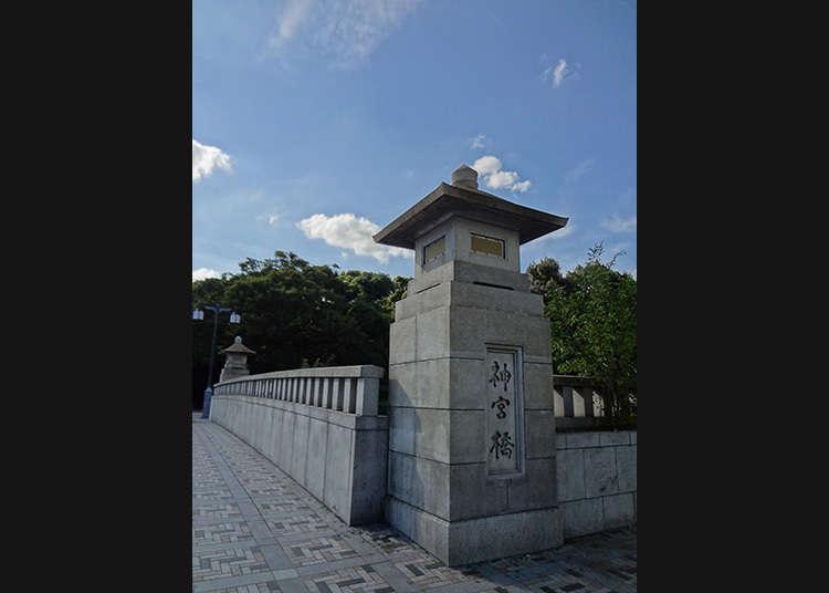 Merentasi Jingu Bashi (Jambatan Jingu)