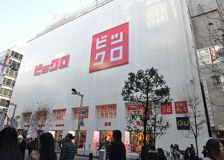 Shopping for consumer electronics and clothes at the same time