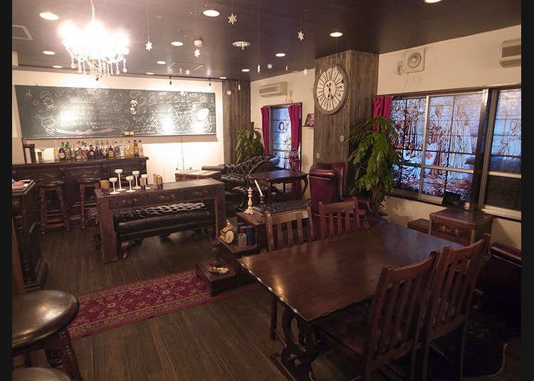 去很受腐女子歡迎的咖啡廳看看