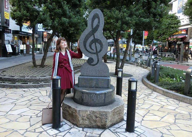 Monumen not muzik