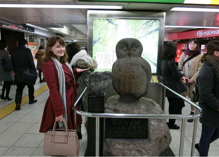 Tempat yang mempunyai arca penguin Ikefukuro