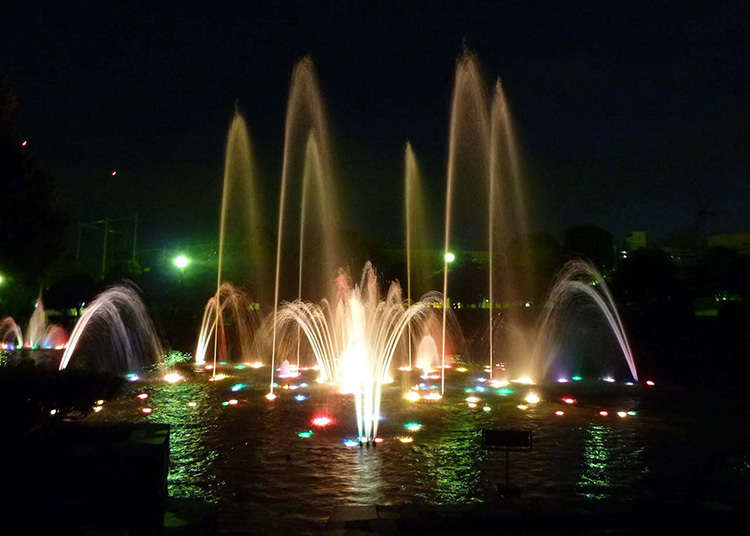 Taman yang Terpilih Menjadi 100 Taman Kota Terbaik Jepang