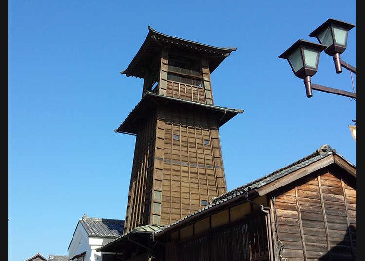 從400年前就開始報時的小鎮的地標