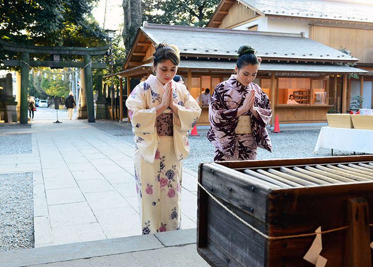 參拜神社感受日本傳統文化