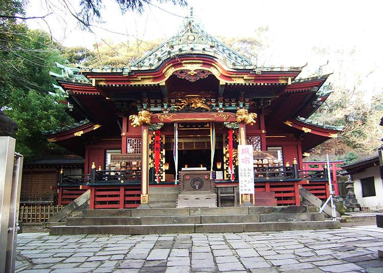 從江戶時代流傳下來的關東稻荷神總社的格調