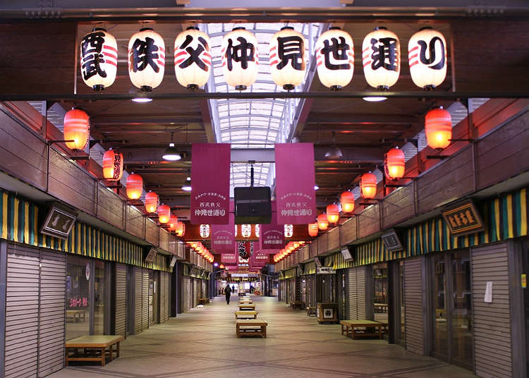 Find souvenirs at Nakamise Shopping Street