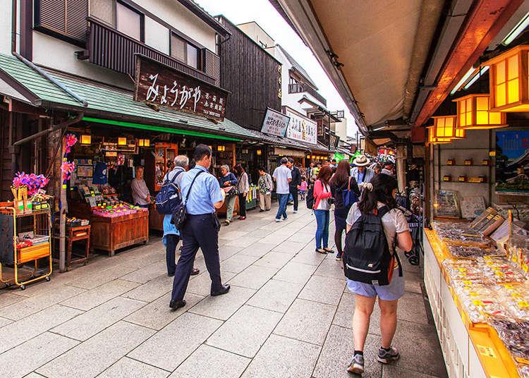 Berjalan-jalan di Kawasan Kota Lama di Shibamata, Tenggelam Dalam Suasana Pertokoan Bernuansa Era Taisho