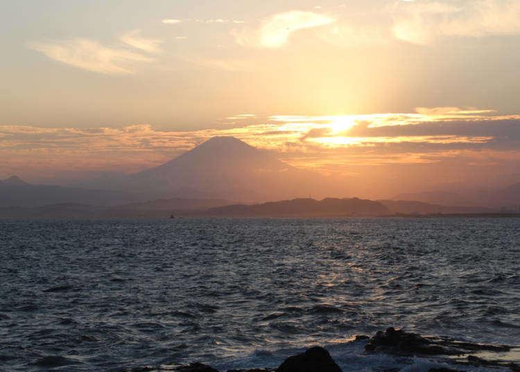 小旅游看大海!沿着江之岛悠闲地散步