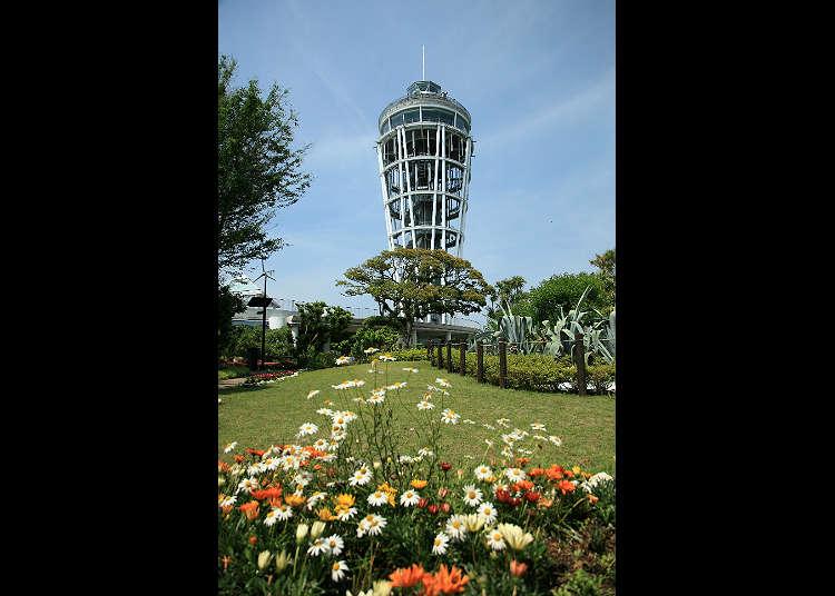 """ไปชมดูทัศนียภาพที่ประภาคาร """"Enoshima Sea Candle"""""""