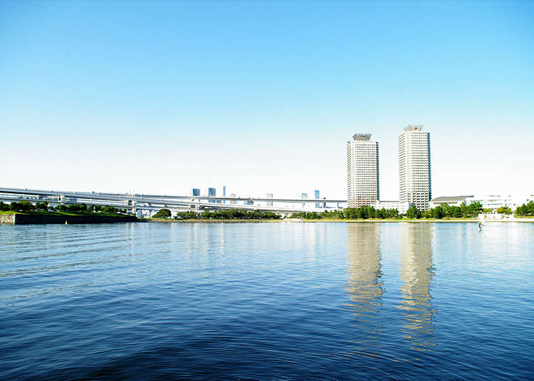 Exploring Odaiba for the First Time