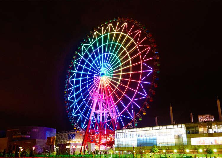 Ride the Palette Town Ferris Wheel!