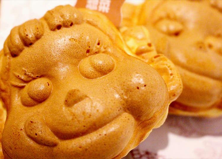 Only in Kagurazaka: Peko-chan Pancakes