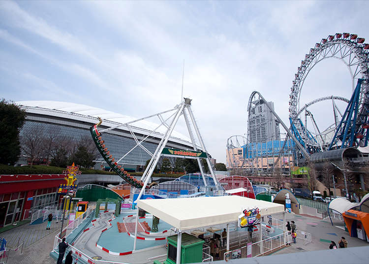 Tokyo Dome City Attractions