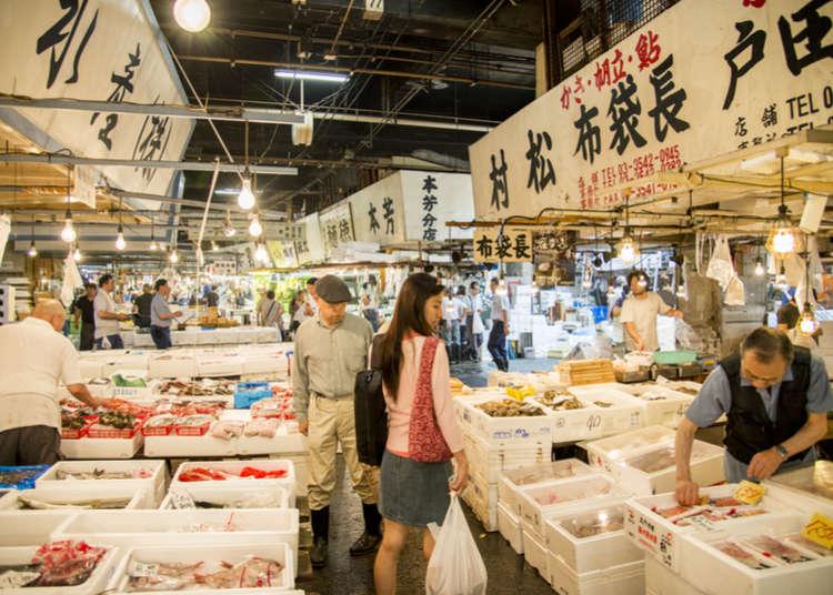東京廚房-好吃好逛的築地場外市場