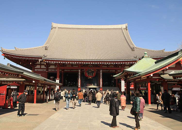浅草寺的游览顺序