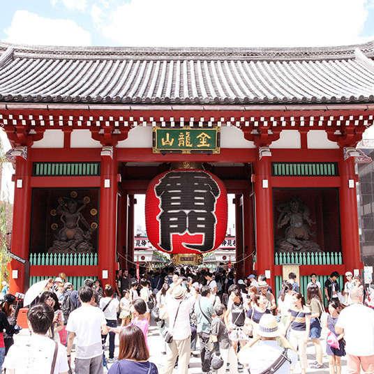 浅草寺の歩きかた