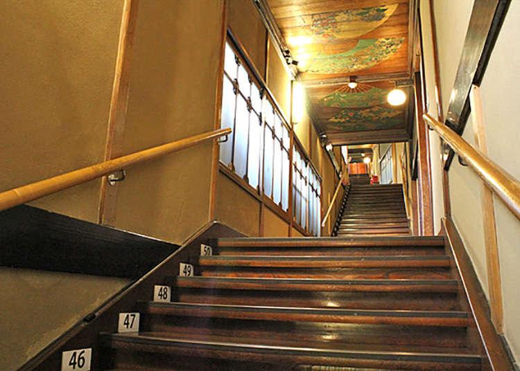 """让人倒吸一口气的""""百级楼梯"""""""