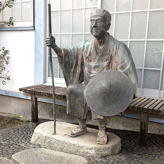A spy of the Shogunate? Follow the tracks of Matsuo Basho!