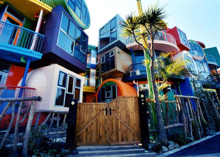 """สถาปัตยกรรมอันล้ำสมัยของโตเกียว """"Reversible Destiny Lofts MITAKA"""""""