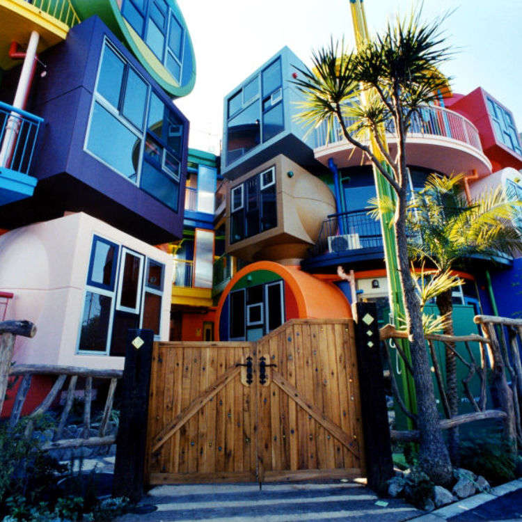 太過創新的東京建築「三鷹天命反轉住宅」