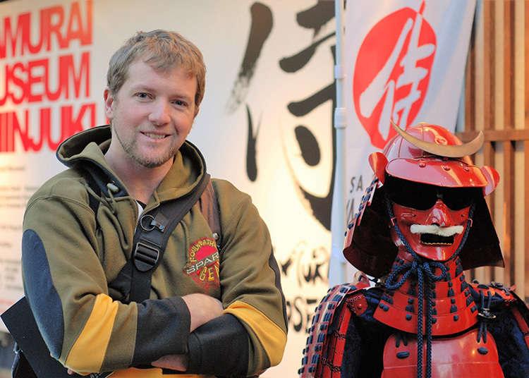 Let's visit the Samurai Museum!