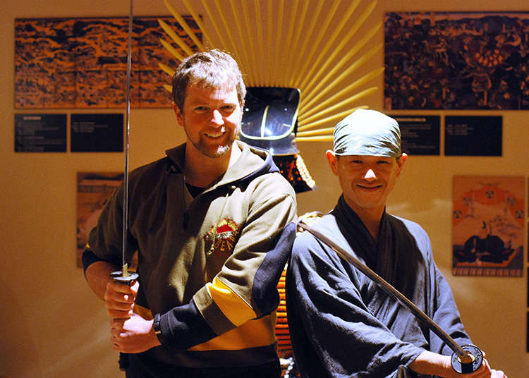 Berinteraksi Dengan Samurai!