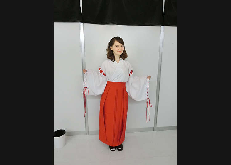 I am going for a miko costume!