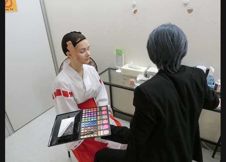Experience makeup!