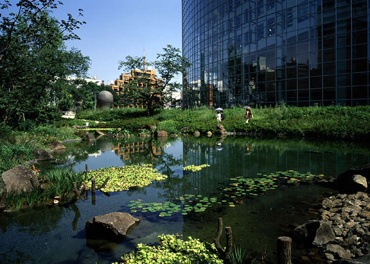 หยุดพักที่สวนสไตล์ญี่ปุ่น