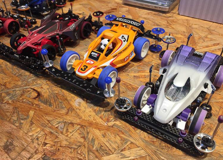 Visit Tokyo's Tamiya Mini 4WD Car Shop and Bar for High-Speed Fun