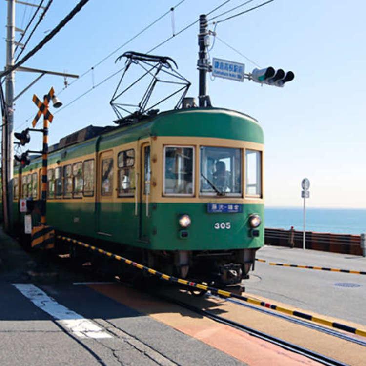 鎌倉海岸的悠遊自行車和咖啡廳巡禮