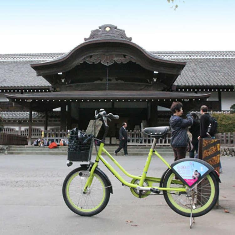 租借自行車暢遊小江戶川越