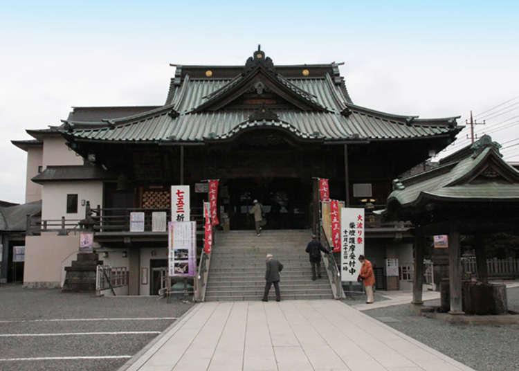 Kawagoe has many shrines and temples