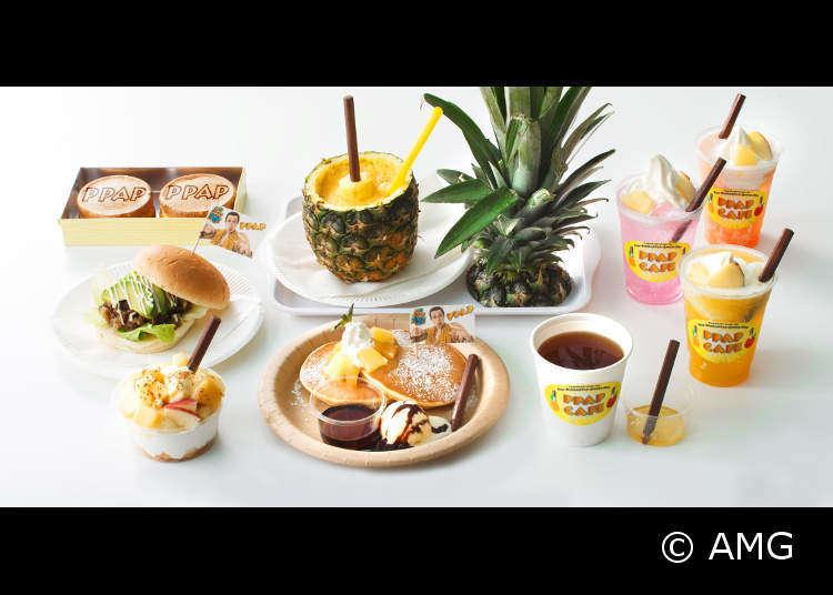 ふんわりカスタードの今川焼&あつあつパンケーキ!PPAPカフェに注目!