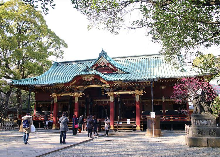 Nezu Shrine - an important cultural property of Japan