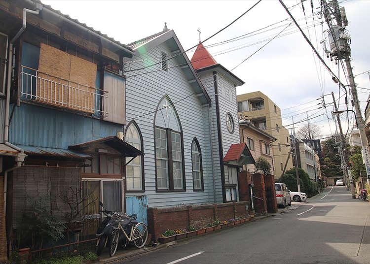 Nezu Church - 1900's Western style architecture