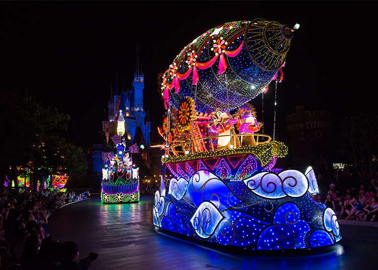 無数の光「エレクトリカルパレード」