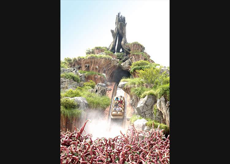 """""""Splash Mountain (สแปลชเมาน์เทน)"""" ที่เต็มไปด้วยความน่าตื่นตาตื่นใจ"""