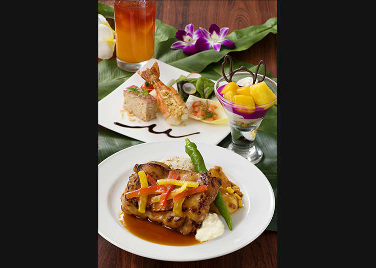 """Polynesian Terrace Restaurant (สวนอาหารโพลีนีเซียนเทอร์เรซ)"""