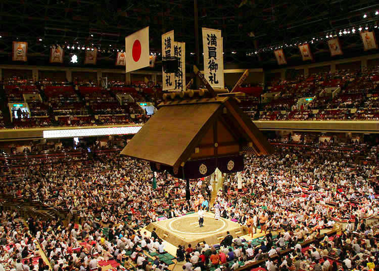일본의 국기를 즐기자! 첫 스모 관전