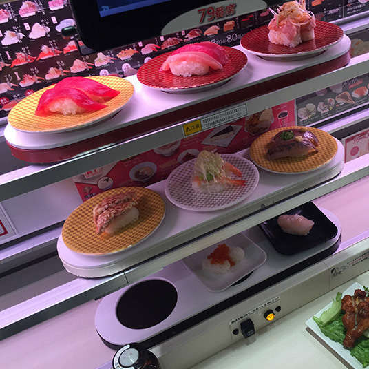 The Uniqueness of Rotating Sushi