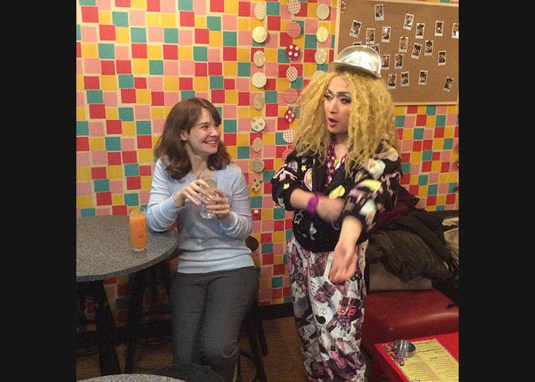 对LGBTQ((女同、男同、双性恋、变形和酷儿的统称))很友好的新宿二丁目