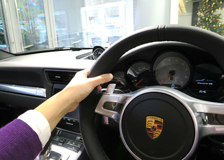 Take a Porsche for a Test Drive after your meal? Wow!