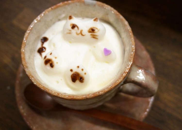 3D latte art yang sedap dan menyeronokkan