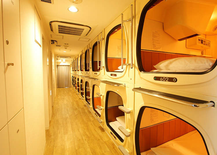 Capsule hotels were born in Osaka in the late 1970s