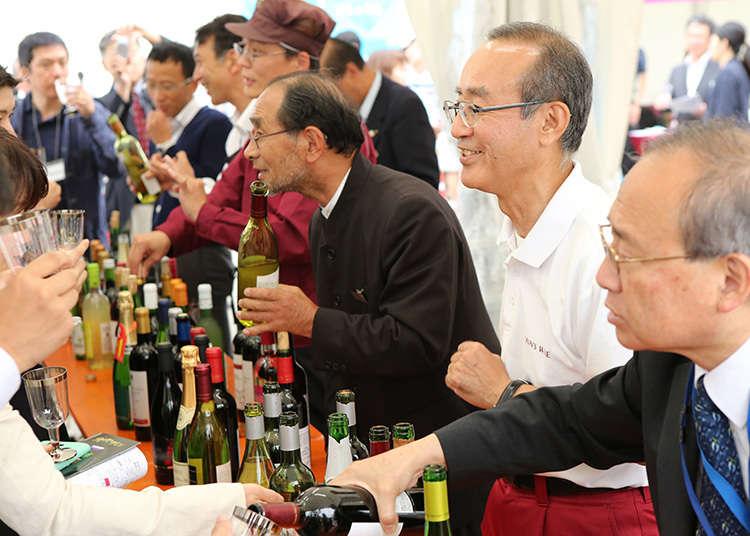 """""""งานเทศกาล Matsuri ไวน์ในประเทศญี่ปุ่น"""""""